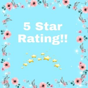 Other - 5 star rating!